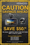 KENWOOD Dual Dash Cam Rebate Online Asset Folder: Rebate Form, Banners, Tag, Facebook Post