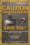 KENWOOD Instant Rebate Dash Cam Post Assets - Nov. 1 - Dec. 31 - DRV-A700WDP, DRV-A601WDP