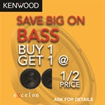 KENWOOD Buy One Woofer Get One Half Price - Online Assets / Banners